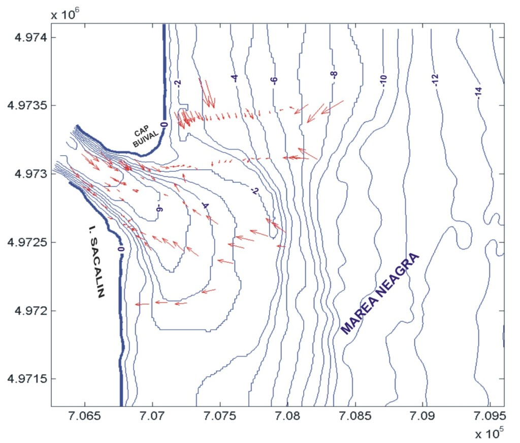 Modelling of the sediment dynamics for St. George (Danube) mouth